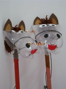 caballos-con-botellas-recicladas