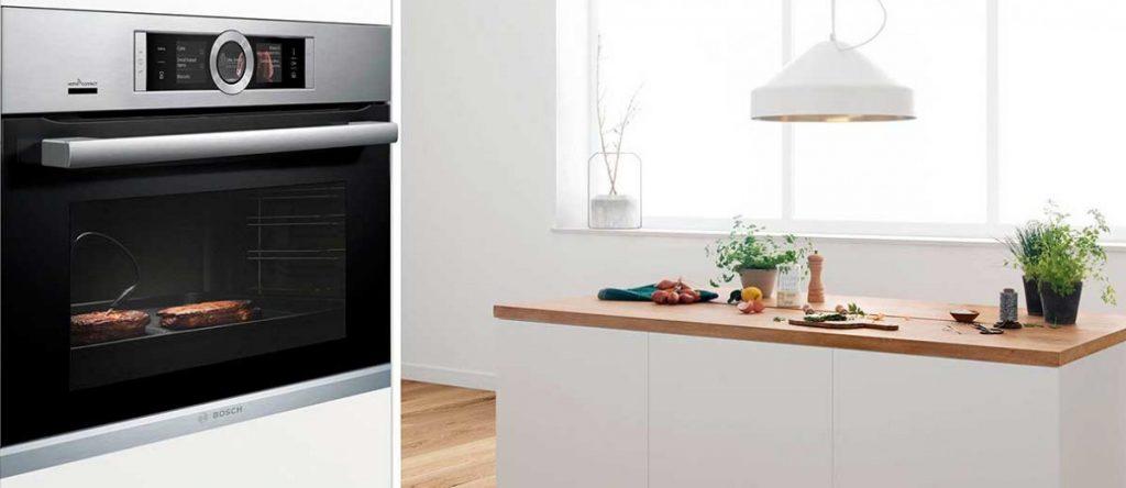 Los hornos de vapor de Bosch son un gran aliado para tu cocina.
