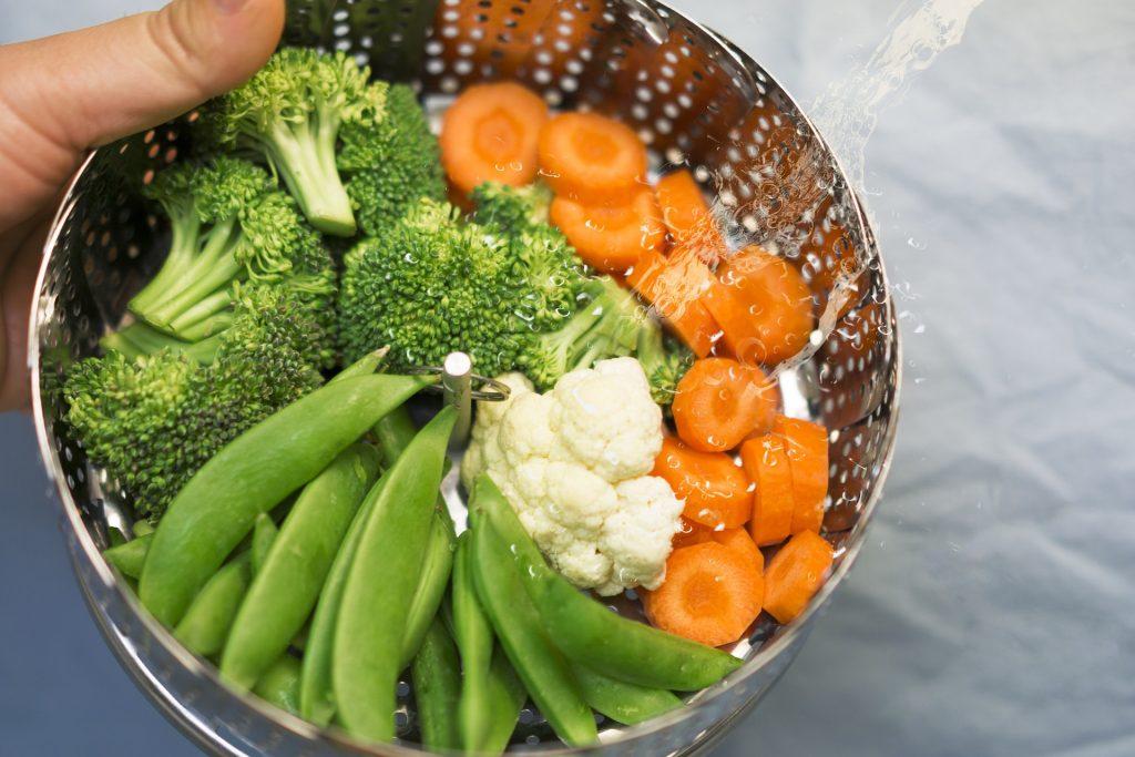 Verduras al vapor con todo el sabor
