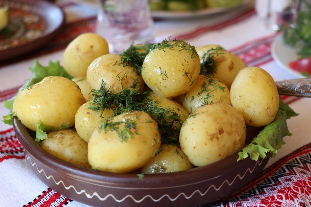 La patata y la cocina de aprovechamiento